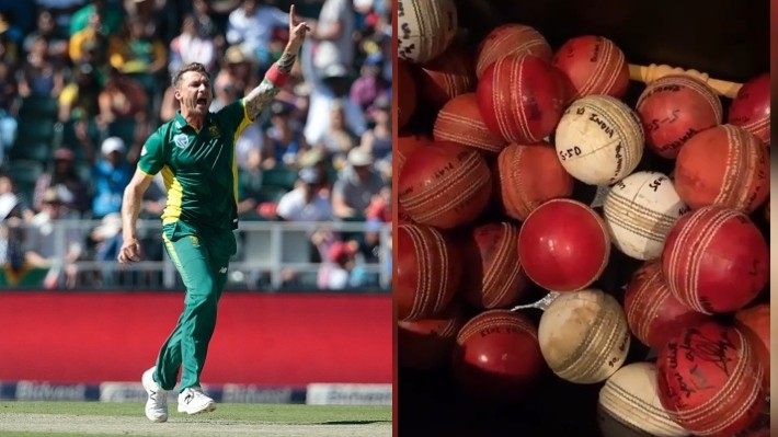 WATCH - Dale Steyn shows off his five-wicket haul ball collection