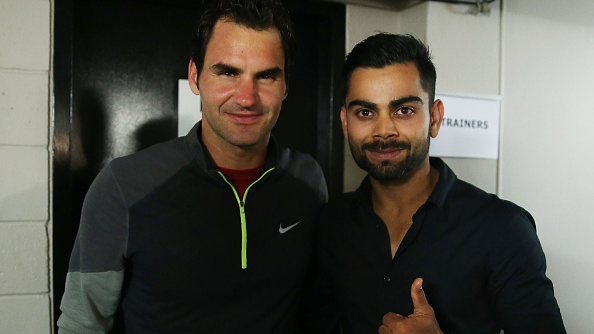 WATCH: Roger Federer plays front foot defence that will make Virat Kohli proud