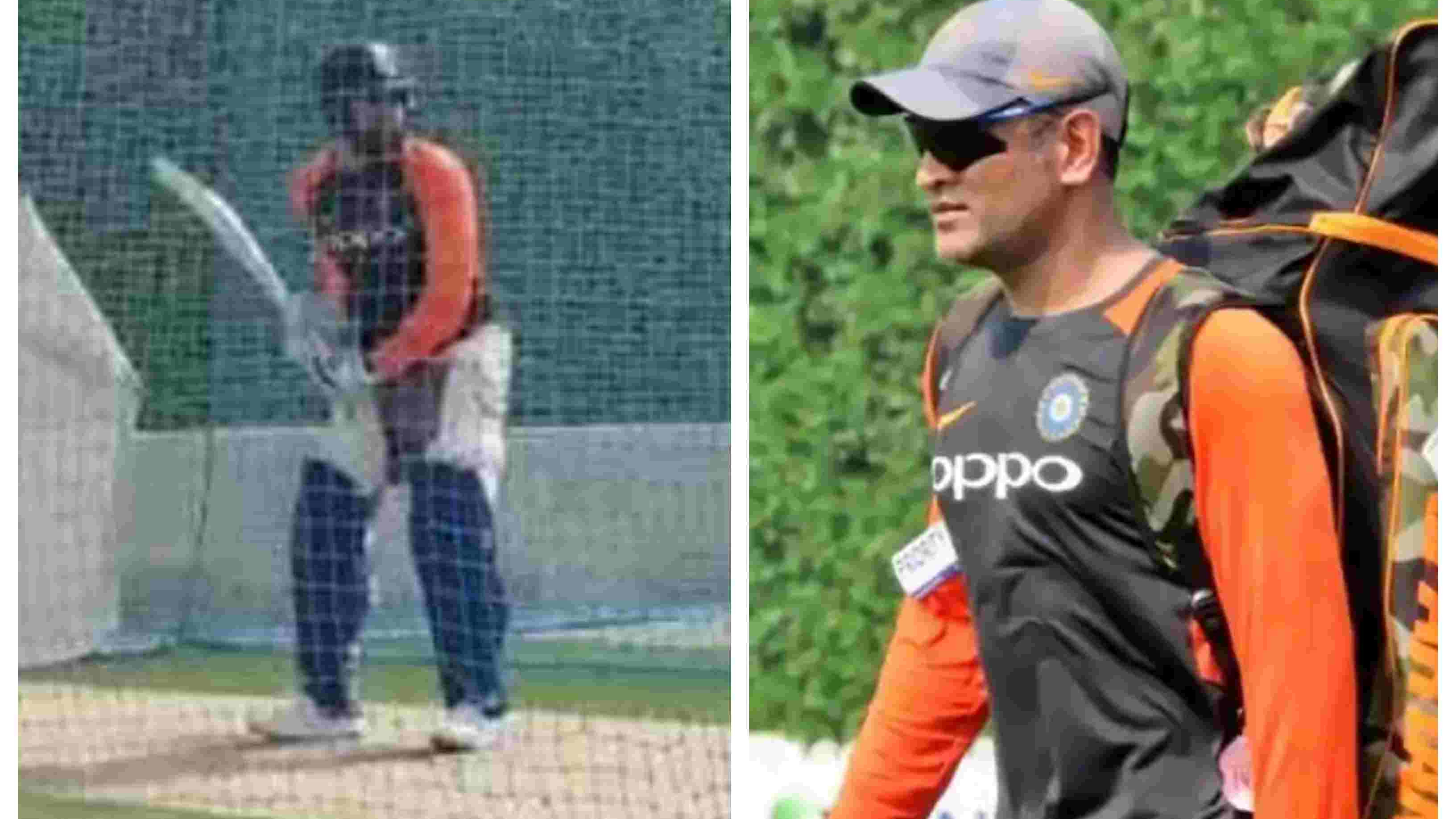 ASIA CUP 2018: WATCH – MS Dhoni, Rohit Sharma sweat it out in the nets ahead of Hong Kong game