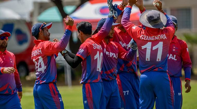 Nepal defeated China by 10 wickets (Pic. source: ICC/Twitter)