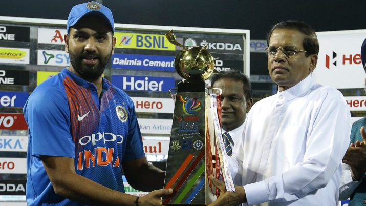 Nidahas Tri-series 2018: Rohit Sharma thanks Sri Lankan crowd after India's thrilling victory in the final