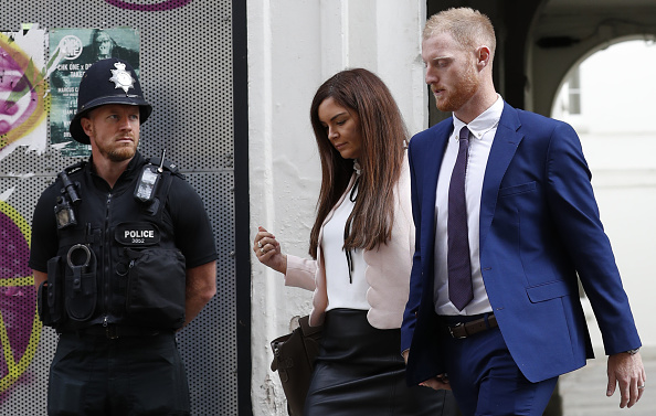 Ben Stokes with wife Clare | Getty