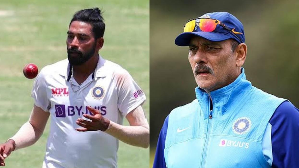 AUS V IND 2020-21: Ravi Shastri calls Mohammed Siraj