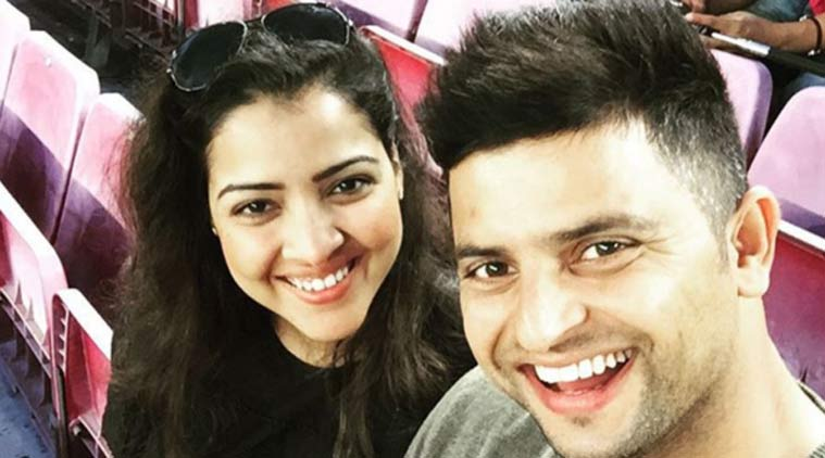 Suresh Raina with his wife Priyanka | INSTAGRAM