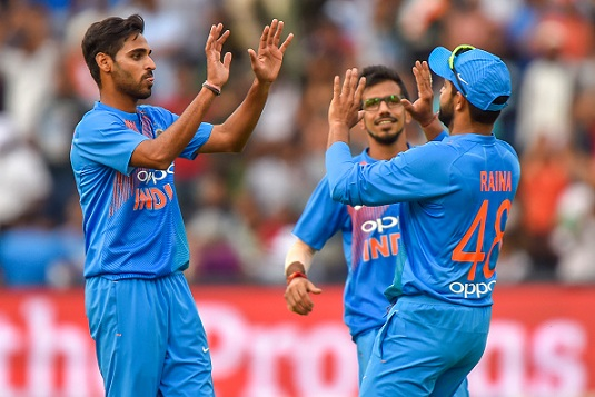 SA v IND 2018: 1st T20I – Bhuvneshwar Kumar fifer and Dhawan's 72 gives India win by 28 runs