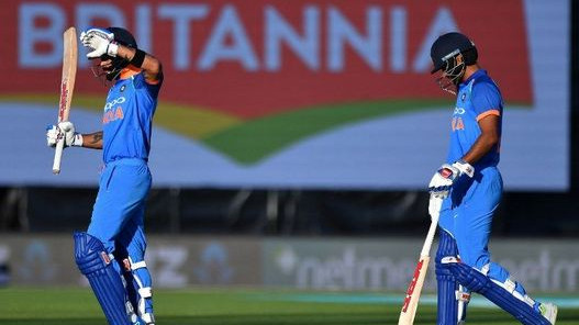NZ v IND 2019: Virat Kohli surprised after play stoppage due to sunlight in 1st ODI