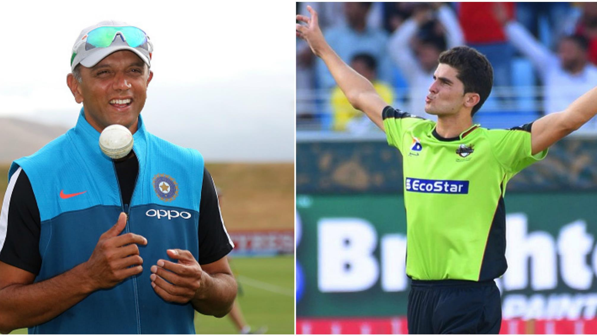 PSL 2018: Shaheen Shah Afridi thanks Rahul Dravid after his magical spell against Multan Sultans
