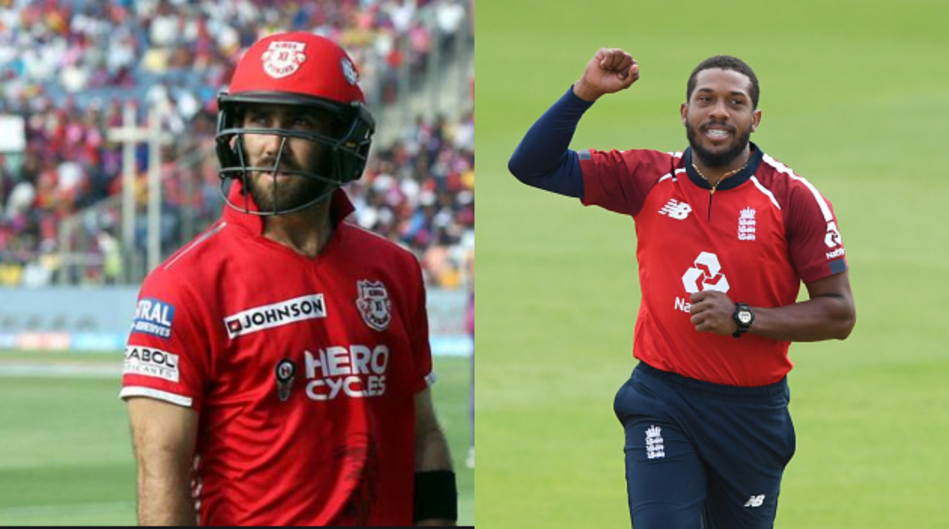 Chris Jordan and Glenn Maxwell set to play for KXIP | AFP