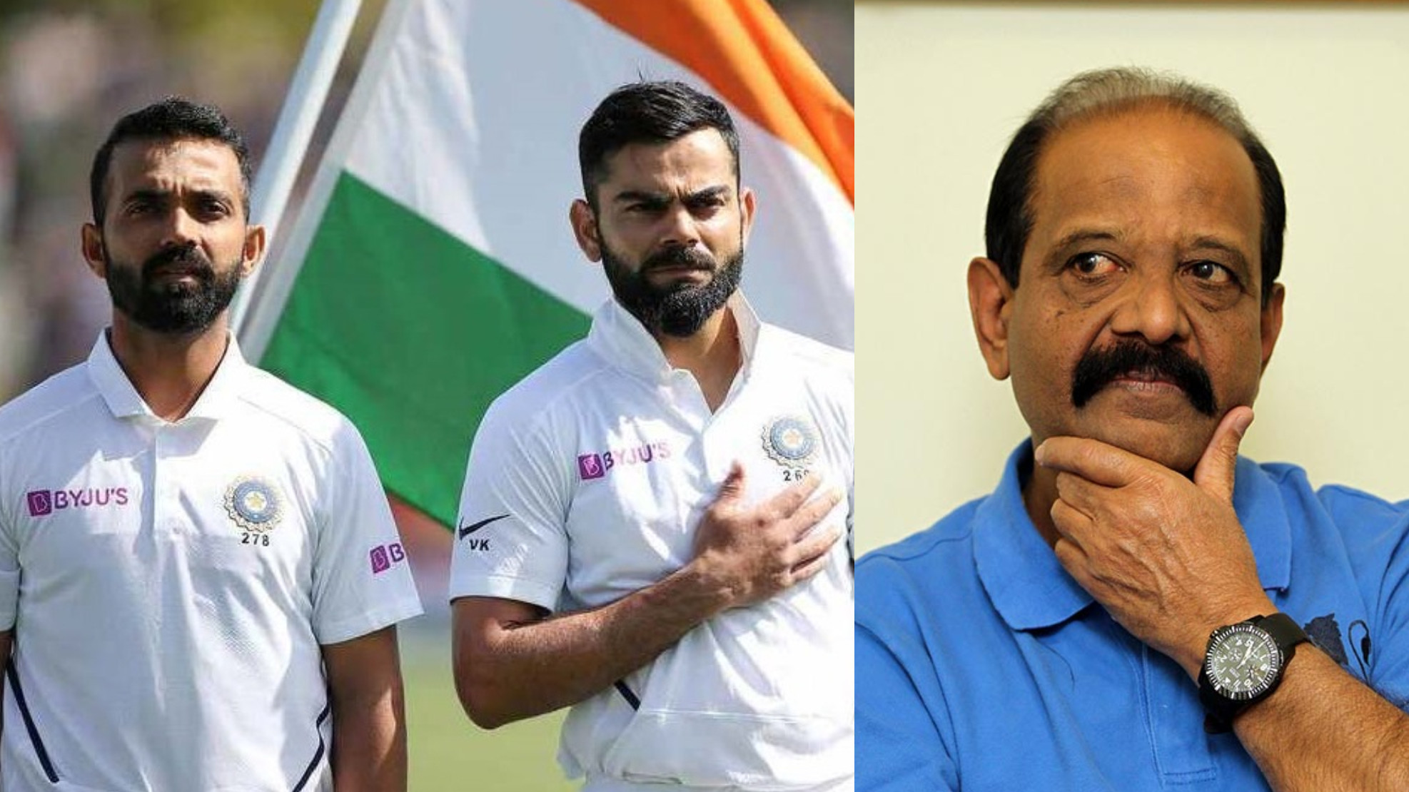 Both Kohli and Rahane have different captaincy styles; but are hungry for wins, says GR Viswanath