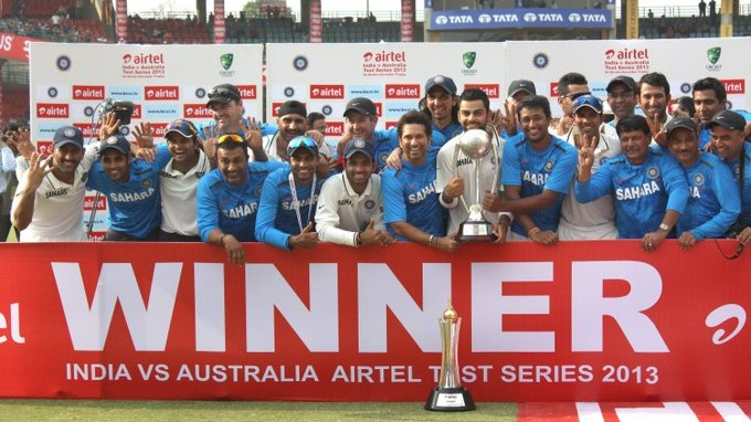 On This Day: India whitewashes Australia 4-0 at home in Tests; becomes the first team to do so in 43 years