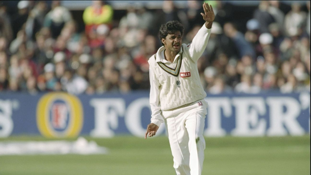 Javagal Srinath bowled an over full of wides to ensure he didn't pick a wicket