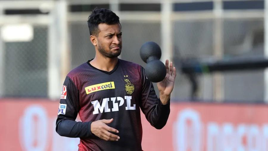 Shakib Al Hasan plays for KKR in IPL   BCCI-IPL