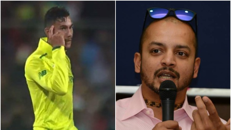 IND v SA 2019: South Africa spinner Bjorn Fortuin gives a befitting reply to commentator Murali Kartik
