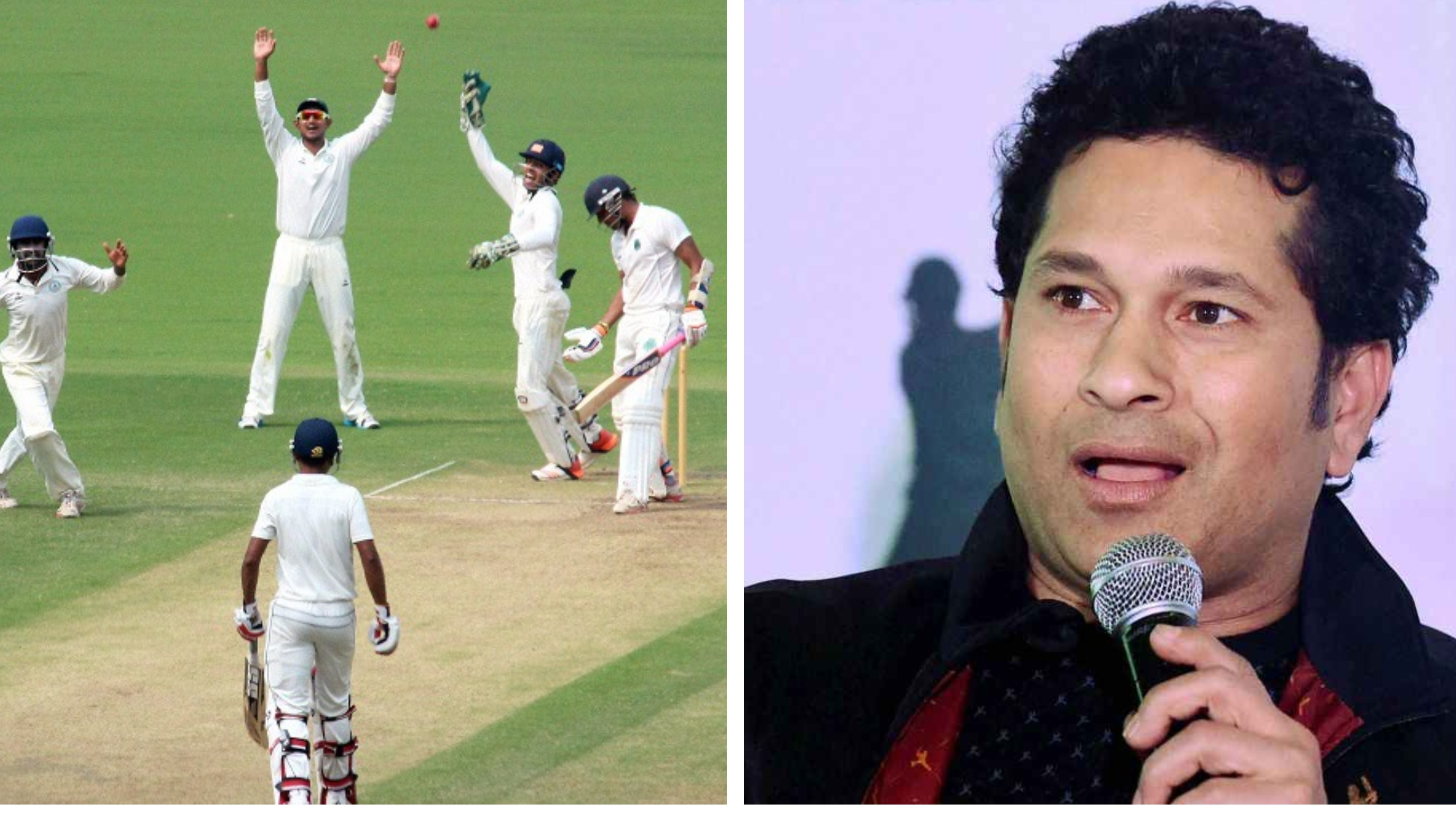 Sachin Tendulkar bats for challenging pitches in India's first-class cricket
