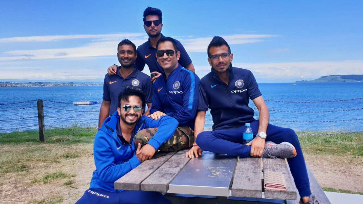 NZ v IND 2019: PICS- Team India enjoys scenic route to Tauranga