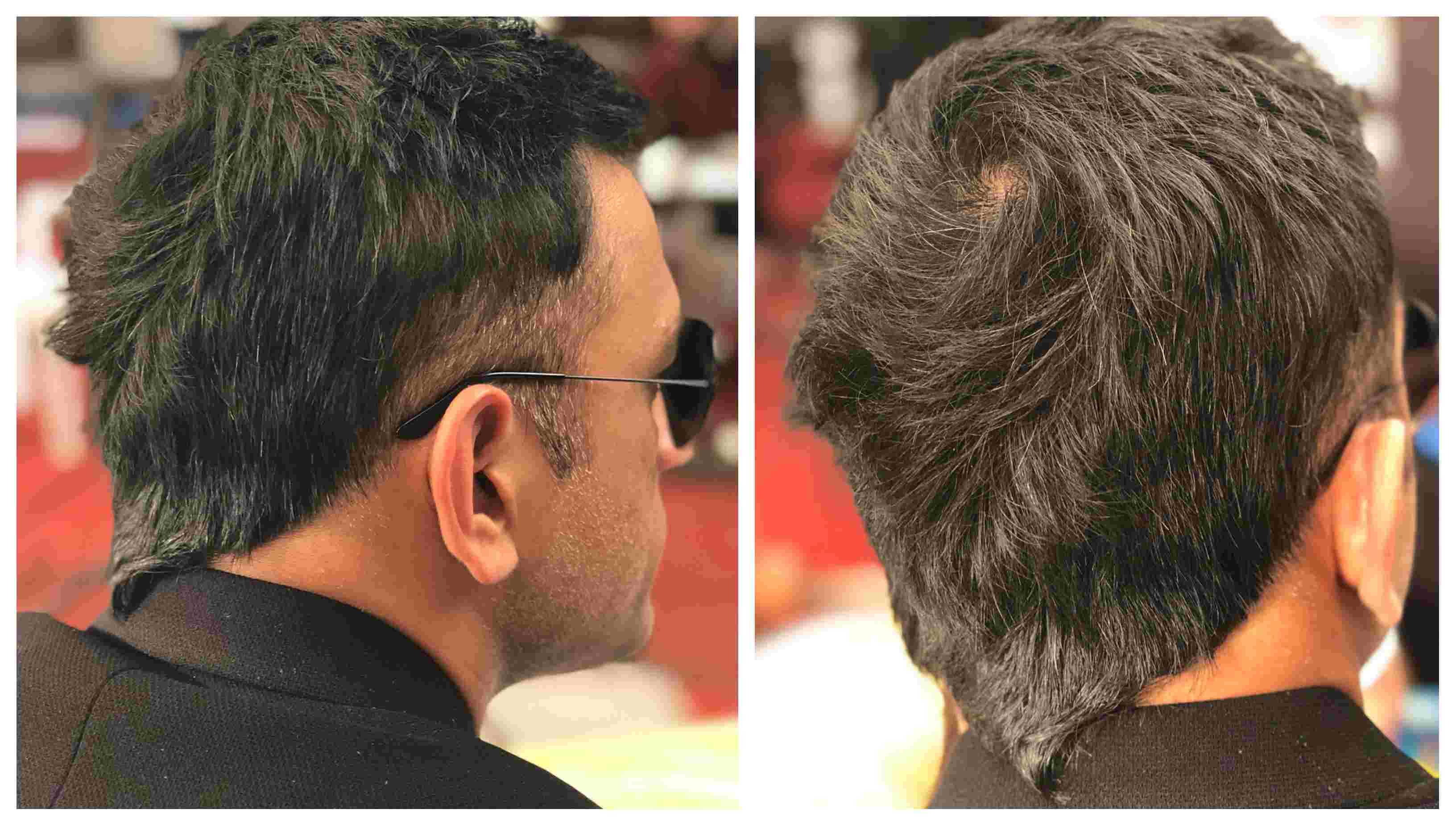 In Pics Ms Dhoni Sports A New Stylish Haircut