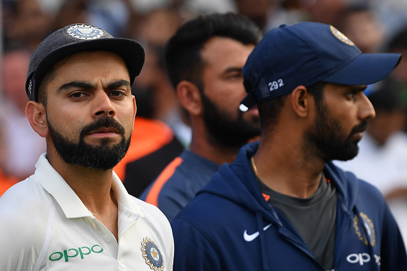 Virat Kohli after the fifth Test | GETTY