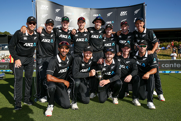 New Zealand have replaced England as No. 1 ranked ODI team   Getty