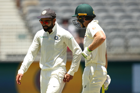 Tim Paine and company were involved in a spat with Virat Kohli during India's last tour of Australia | Getty