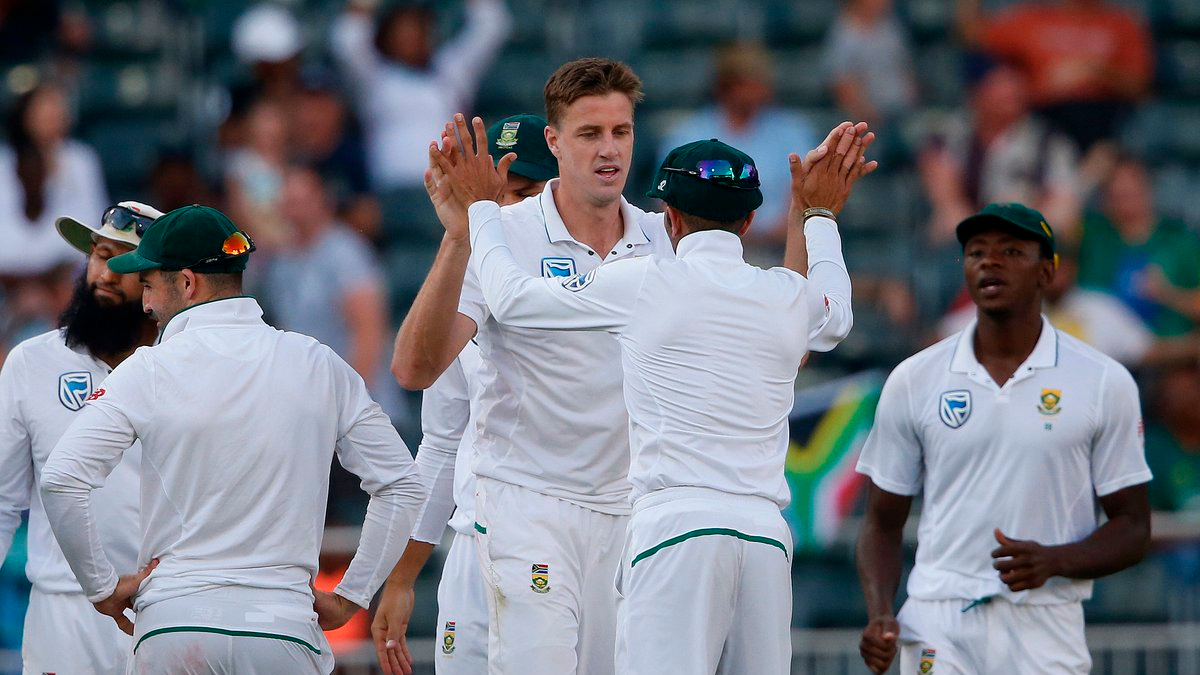 SA v AUS 2018: 4th Test, Day 4 - Statistical Highlights