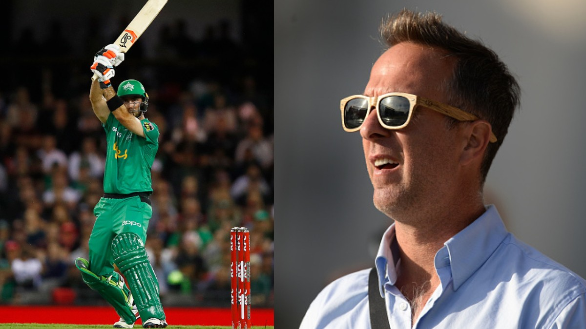 BBL 09: Michael Vaughan compliments Glenn Maxwell for his explosive knock against Renegades