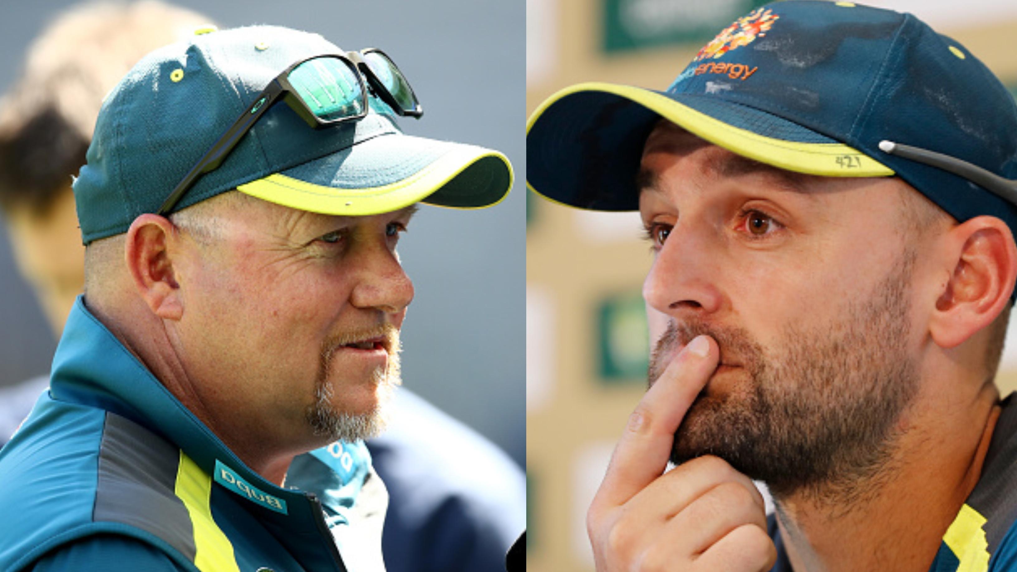 Nathan Lyon stunned by sudden departure of David Saker as Australian bowling coach