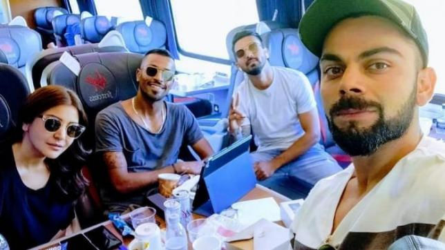 KL Rahul enjoys train journey with Virat Kohli and Anushka Sharma in England