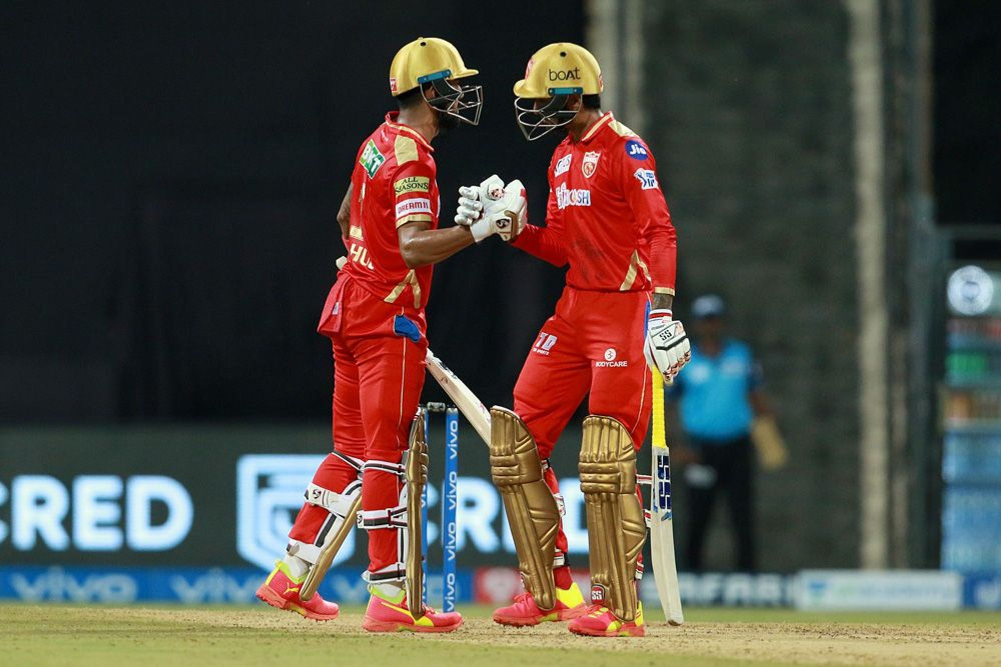 Rahul and Hooda added 105 runs for the 3rd wicket   BCCI-IPL