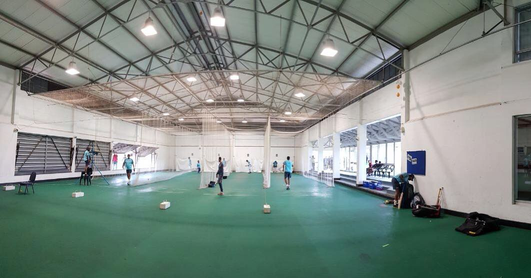 Team India had to practice indoors for a day or two due to rains