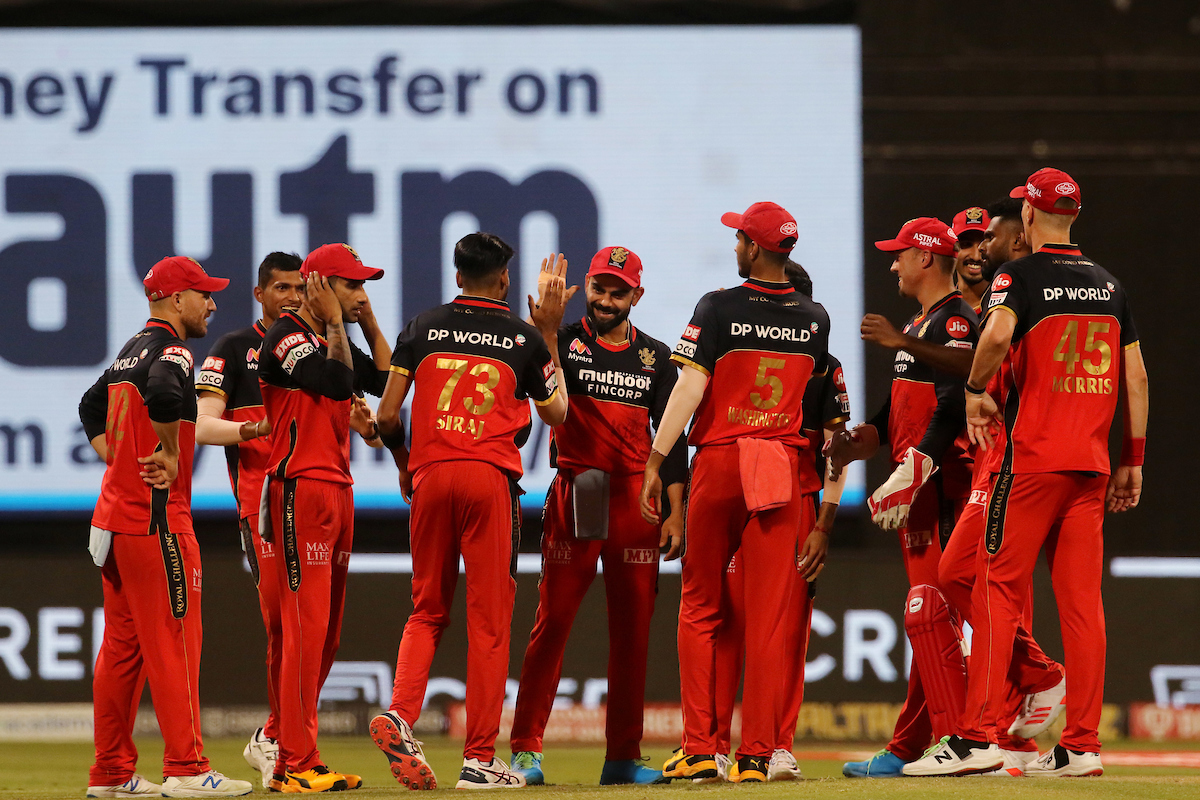 RCB made it to the IPL 2020 playoffs   IPL/BCCI