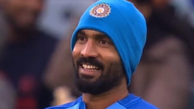 AUS v IND 2018-19: Twitterati reacts to Dinesh Karthik's beanie avatar in MCG