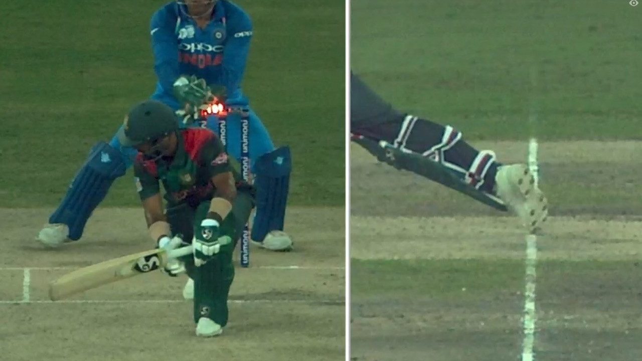 Asia Cup 2018: WATCH- MS Dhoni's magic behind the stumps ends Liton's brilliant innings