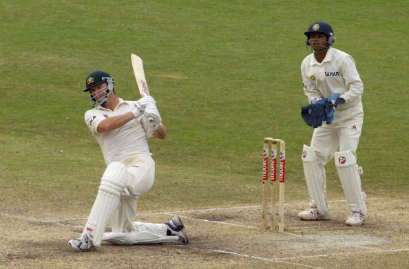 Steve Waugh during his last Test in Sydney in 2004 | GETTY