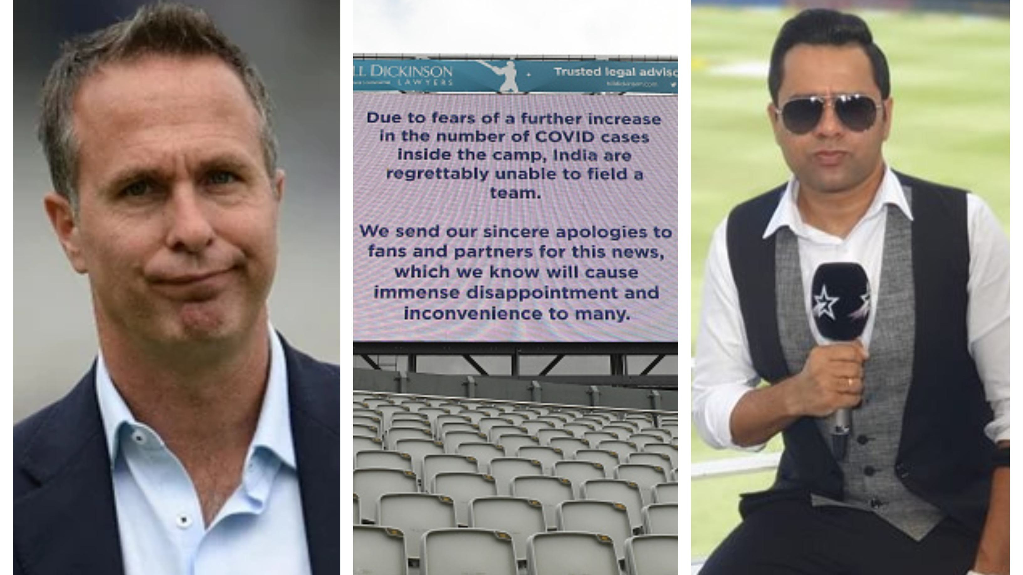 ENG v IND 2021: Michael Vaughan says IPL only reason behind cancellation of 5th Test, Aakash Chopra reacts