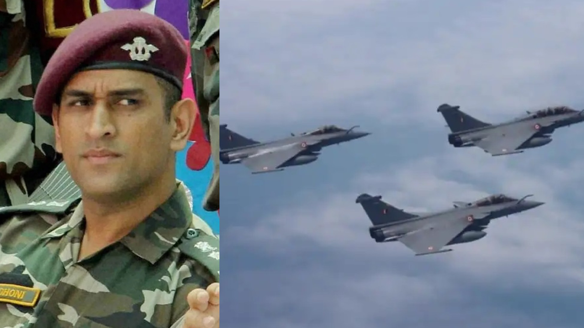 MS Dhoni hails Rafale's induction in the Indian Air Force; says Sukhoi remains his favorite