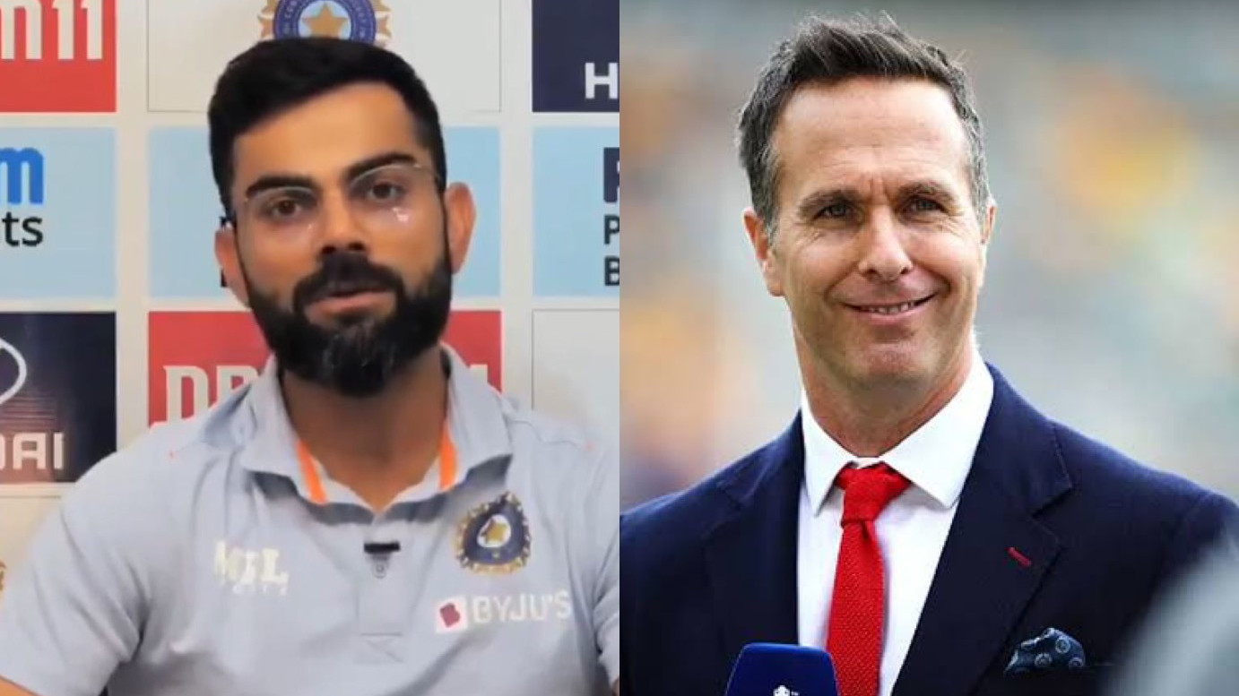IND v ENG 2021: Michael Vaughan reacts to Virat Kohli's 'We don't crib about pitches' statement