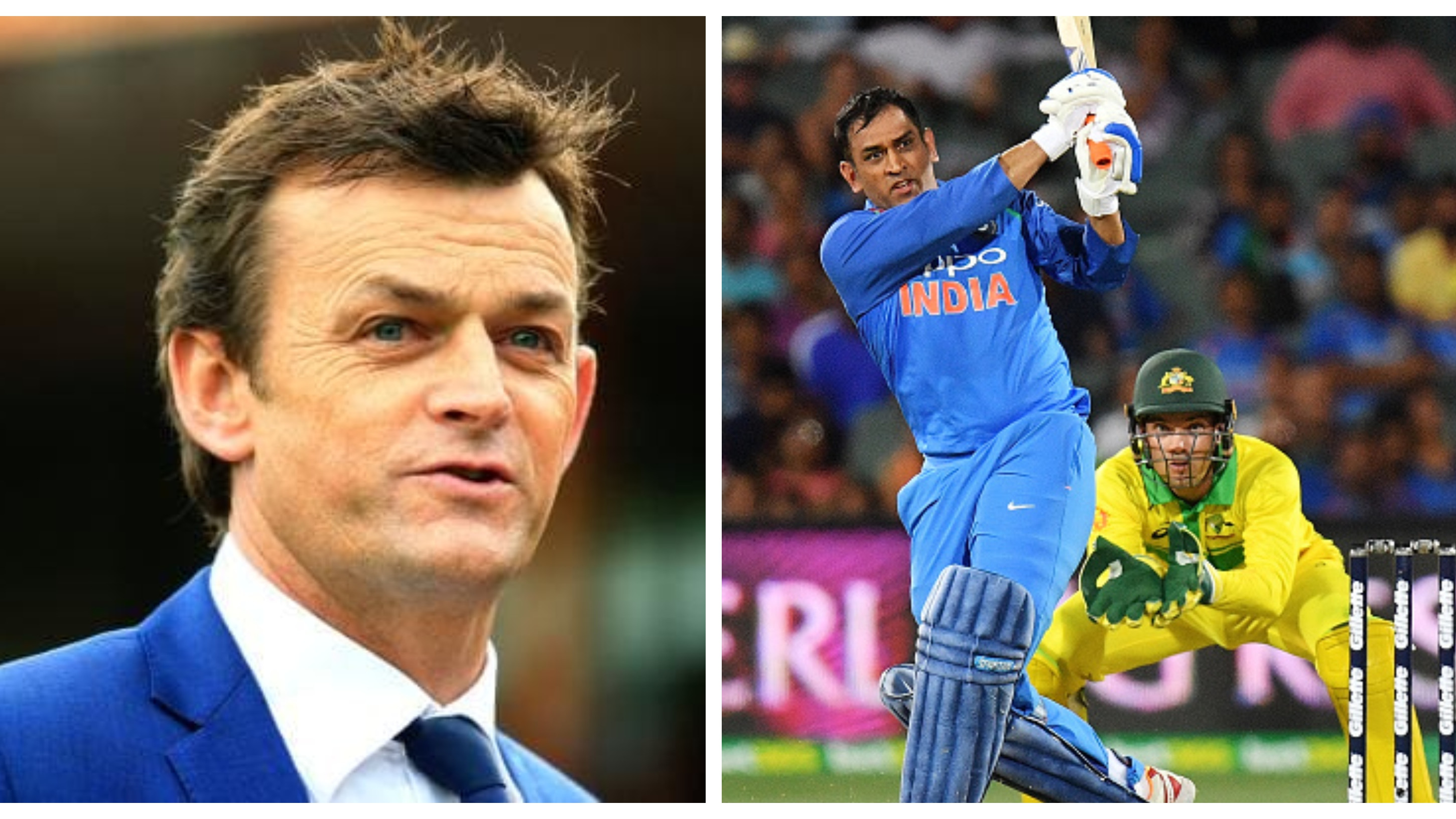 AUS v IND 2018-19: Gilchrist settles debate surrounding MS Dhoni's short run during the Adelaide ODI