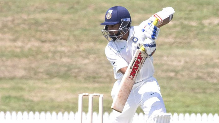 Rutherford century and lower order runs from NZ A frustrates India A on day 3