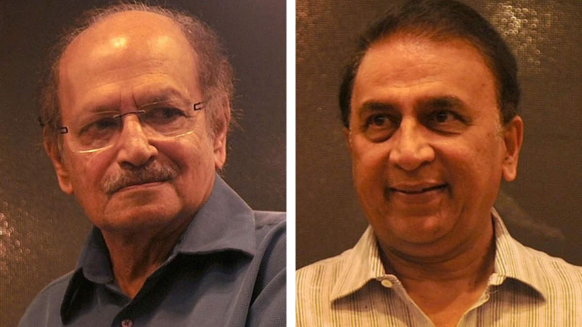 Sunil Gavaskar recalls a Ranji game when he had to bat sporting Ajit Wadekar's pads
