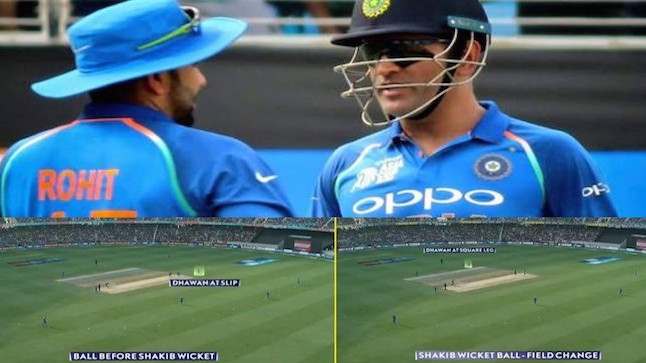 Asia Cup 2018: MS Dhoni's masterstroke to remove Shakib triggers clash between Chennai Super Kings and Mumbai Indians