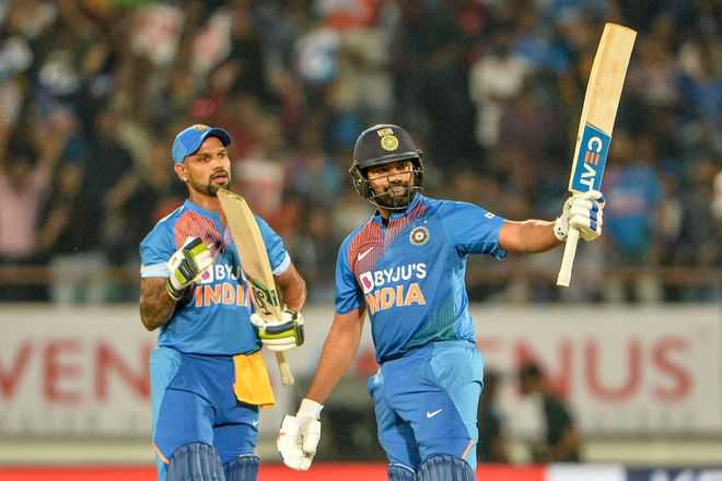 India chased comfortably against Bangladesh in Rajkot | AFP