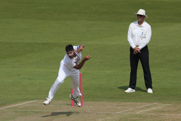 Avesh Khan bowled 9.5 overs on Day 1 | Getty