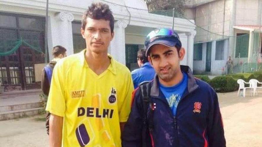 IND v AFG 2018: Navdeep Saini thanks Gautam Gambhir for playing an important role in his rise