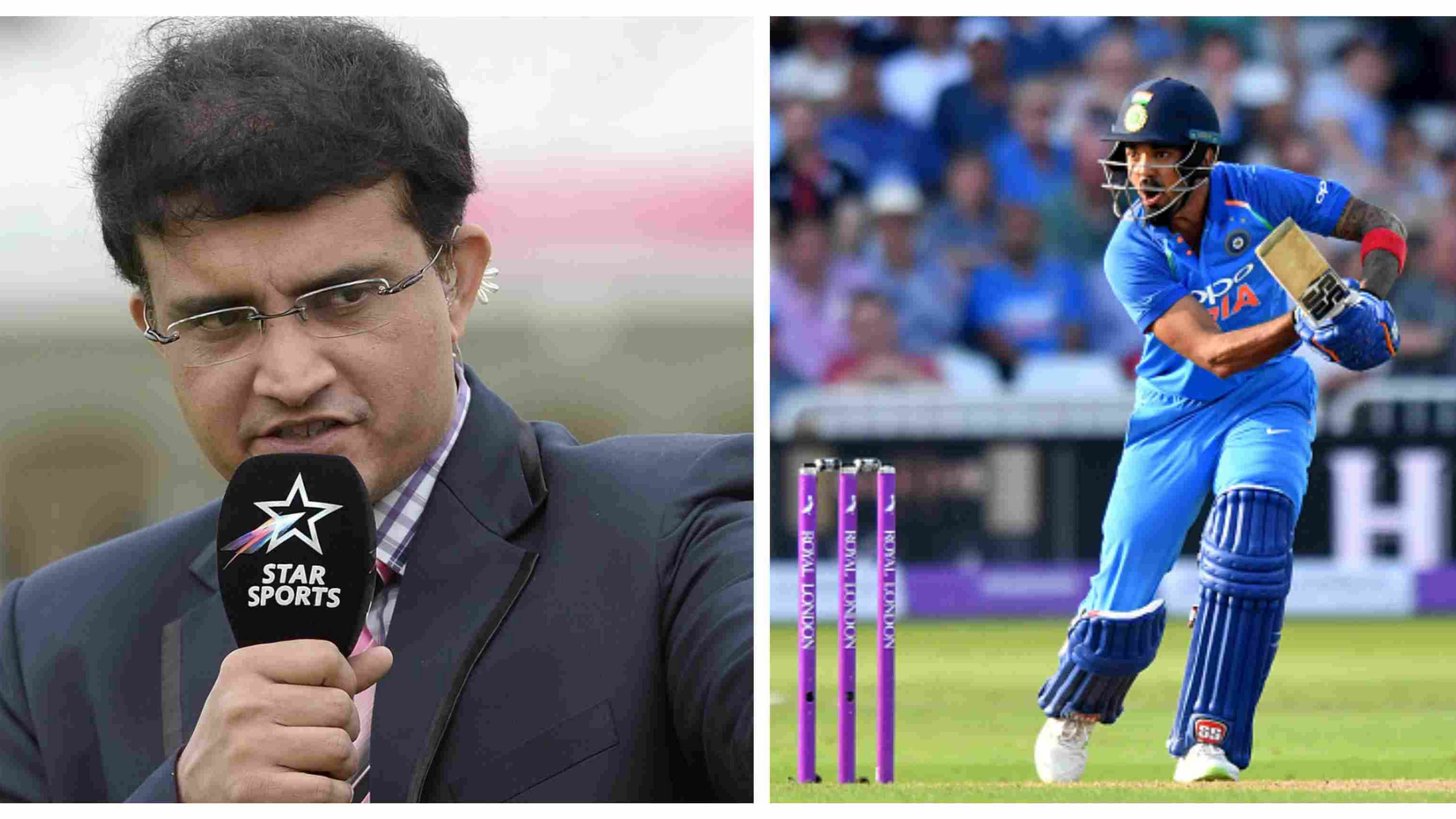 ENG v IND 2018: Sourav Ganguly criticizes India's selection policy, bats for KL Rahul at No.4