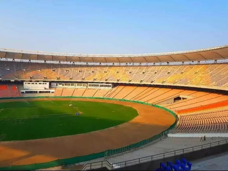 The new Motera stadium