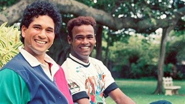 Sachin Tendulkar's special wish for birthday-boy Vinod Kambli