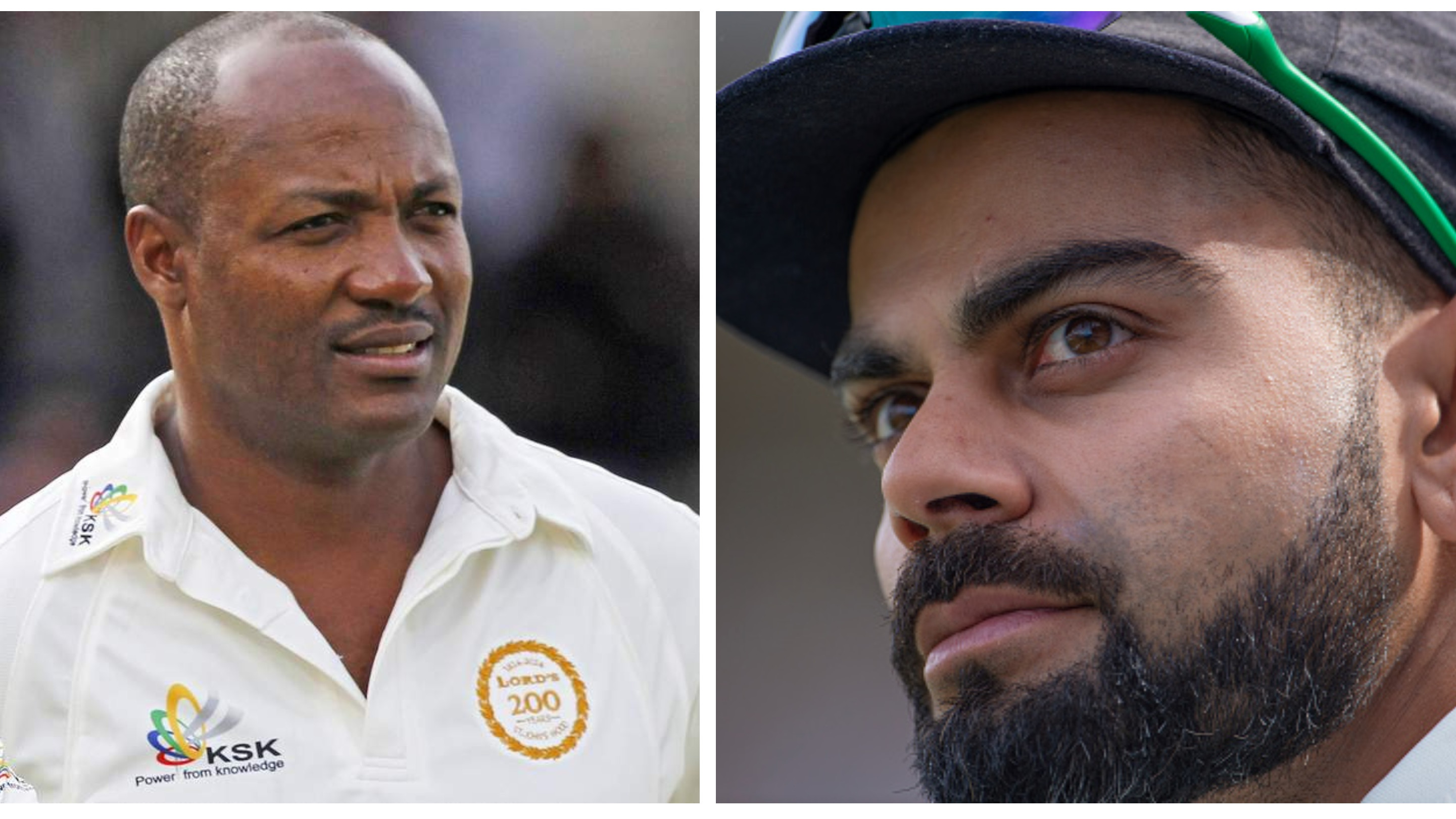 Virat's right up there among the best to have ever played, says Brian Lara