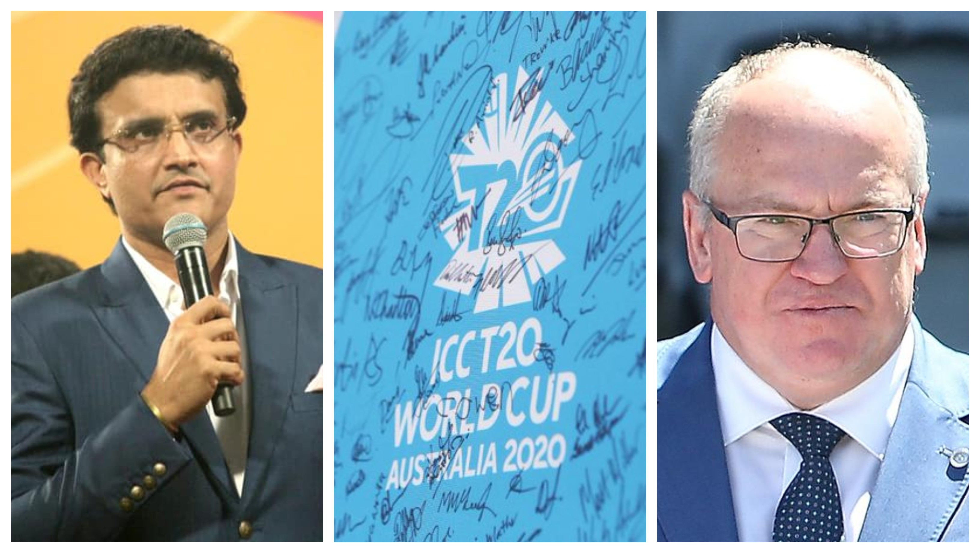 BCCI president Ganguly, CA chairman Eddings to discuss swap of 2021, 2022 T20 WC editions