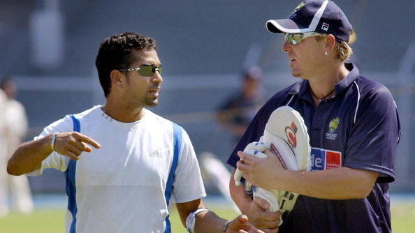 Sachin Tendulkar gives me nightmares was a tongue-in-cheek comment, says Shane Warne