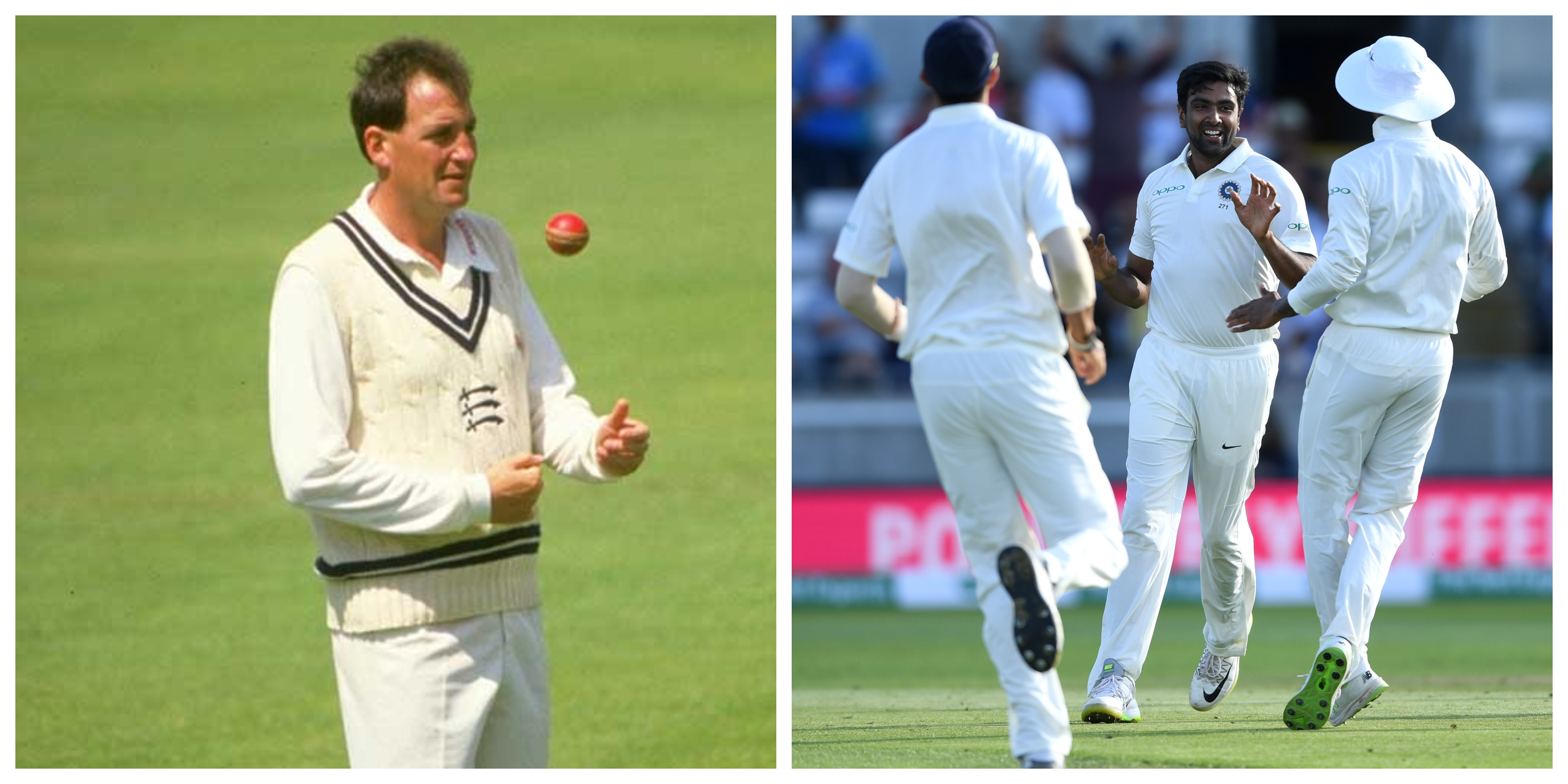 John Emburey is mighty impressed with Ravichandran Ashwin.